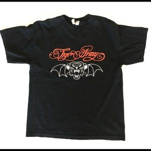 Tiger Army Winged Cat Band T-Shirt